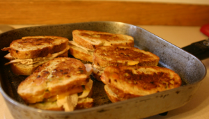 Grilled Turkey-Pesto Sandwich