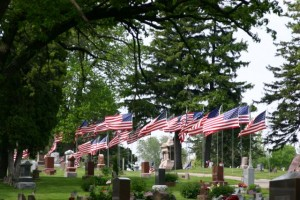 Memorial Day Flags 300x200 Top Ten People I Was Thankful for on Memorial Day