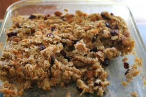 Baked oatmeal with carrots 300x200 Baked Oatmeal with Carrots, Pears, and Nutmeg