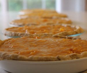 fresh peach pie 300x252 Peach Pie Heaven