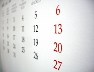 543862 calendar Ten Best Things about January