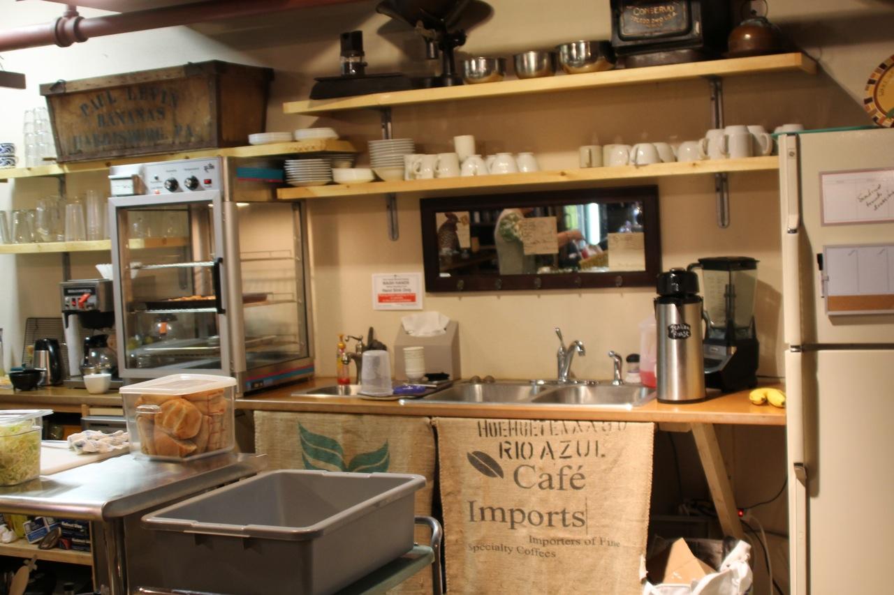 Good News Coffee Shop Kitchen