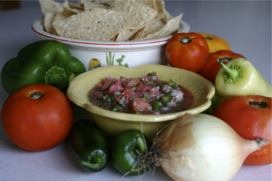 Fresh Summer Salsa…Back by Popular Demand