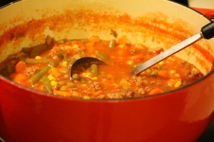 Hearty Hamburger Stew