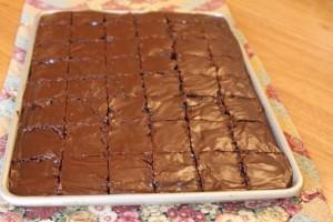 non-dairy buttermilk brownies