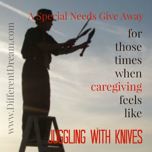 When Caregiving Feels Like Juggling with Knives