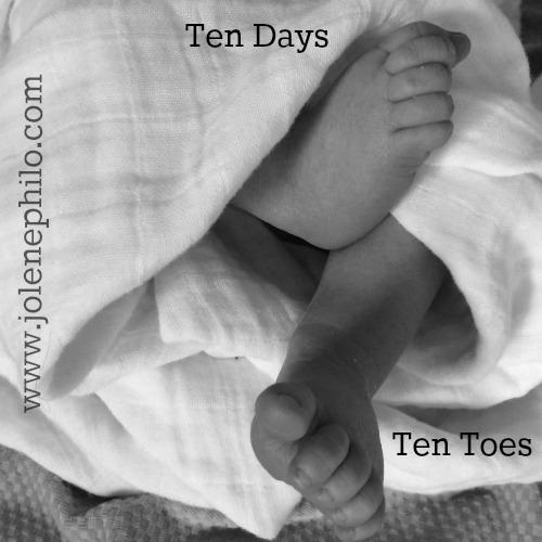 Ten Days Ten Toes