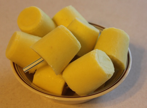 Dairy-Free Pineapple Cream Pops
