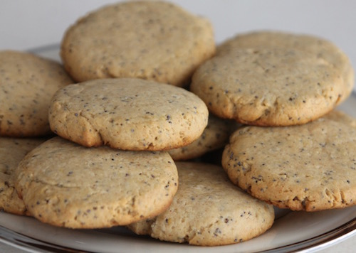 These lemon poppy seed cookies taste great and will make your kitchen smell marvelous. Yum!