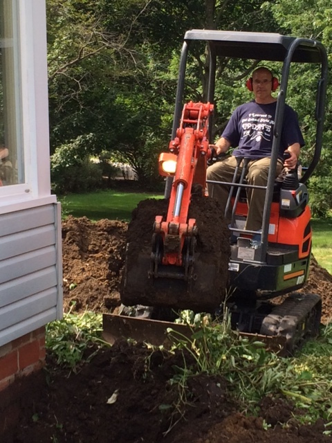 Top Ten Effects of Digging a Trench Around the Basement