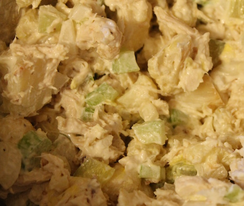 The surprise ingredient in this chicken salad adds a delicious crunch to this lunchtime favorite.