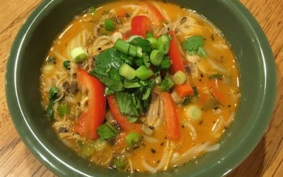Slow Cooker Chicken Thai Soup