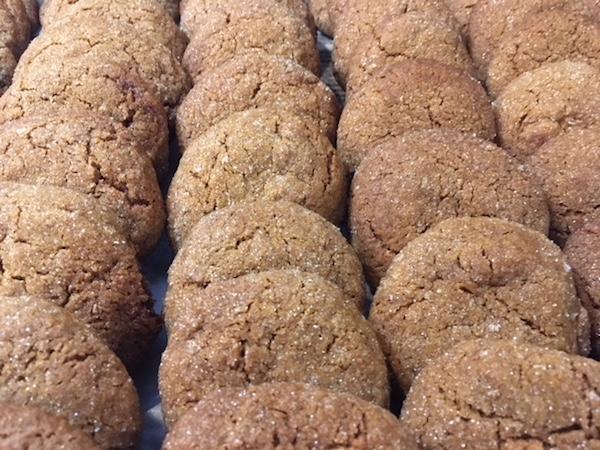 Gingersnaps (AKA Molasses Crinkles)
