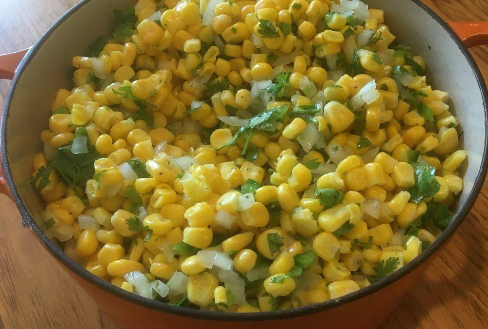They Say Corn Salsa, I Say Corn Salad
