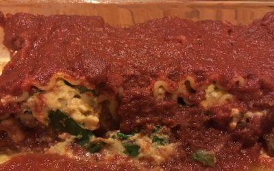 Dairy-Free Lasagna Rolls